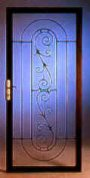 picture of ornamental iron custom steel secuity doors