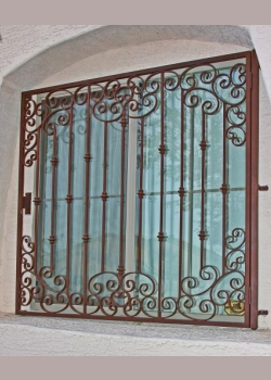Aci Supply Co Inc Decorative Knuckle Scroll Burglar Bars