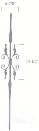 Round Feather Balusters