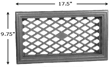 Cast Iron House Vent